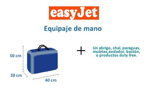 equipaje-mano-medidas-easyjet