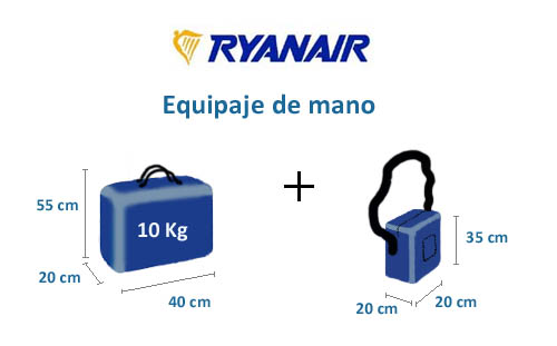 equipaje-mano-medidas-ryanair