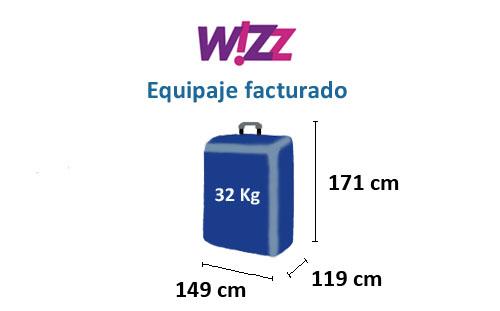 medidas-maletas-equipaje-facturado-wizz-air