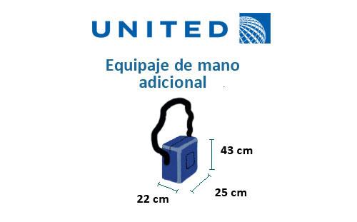medidas-maletas-equipaje-mano-adicional-united-airlines