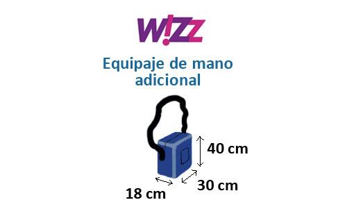 medidas-maletas-equipaje-mano-adicional-wizz-air