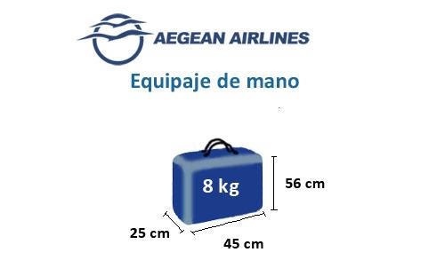 medidas-maletas-equipaje-mano-aegean-airlines