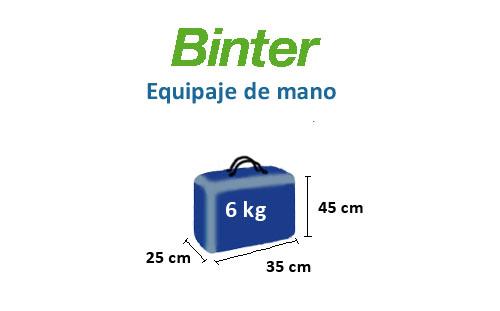medidas-maletas-equipaje-mano-binter