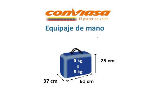 medidas-maletas-equipaje-mano-conviasa