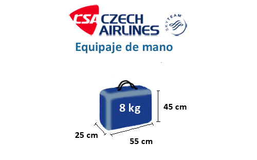 medidas-maletas-equipaje-mano-czech-airlines