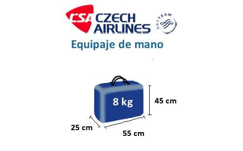 medidas-maletas-equipaje-mano-czech-airlines