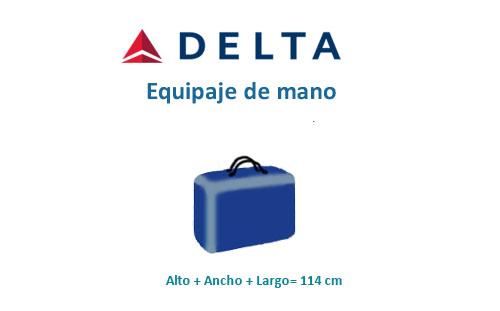 Medidas Maletas Delta Airlines Medidasmaletas 【2019】