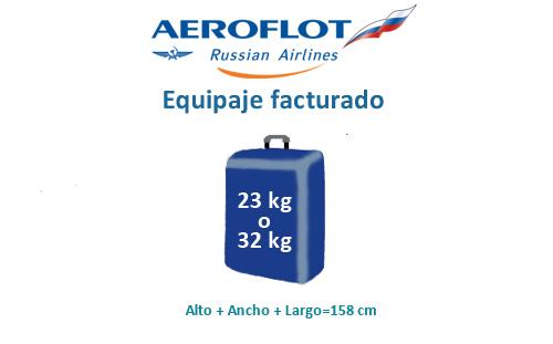 medidas-maletas-equipaje-facturado-aeroflot