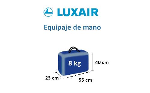 medidas-maletas-equipaje-mano-luxair