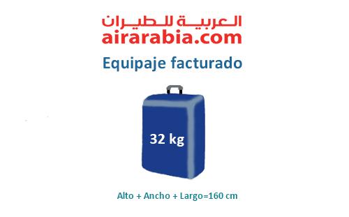 medidas-maletas-equipaje-facturado-air-arabia
