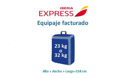 medidas-maletas-equipaje-facturado-iberia-express