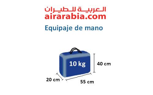 medidas-maletas-equipaje-mano-air-arabia