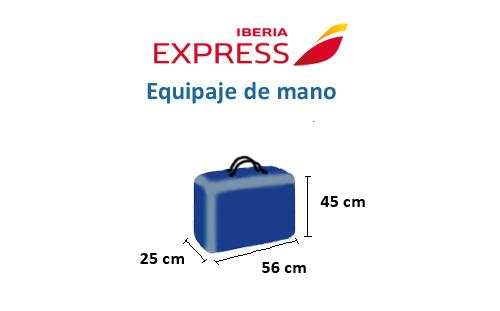 medidas-maletas-equipaje-mano-iberia-express