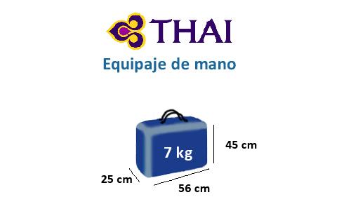 medidas-maletas-equipaje-mano-thai-airways