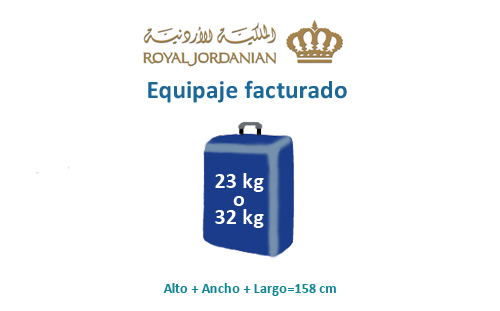 medidas-maletas-equipaje-facturado-royal-jordanian