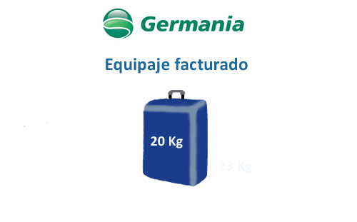 medidas equipaje facturado germania