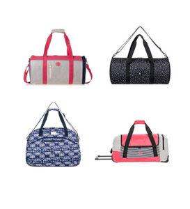 bolsas de viaje de la marca roxy