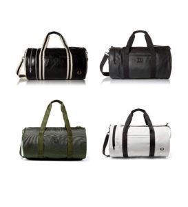 bolsos de viaje de la marca fred perry