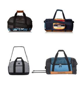 bolsas de viaje de la marca quiksilver