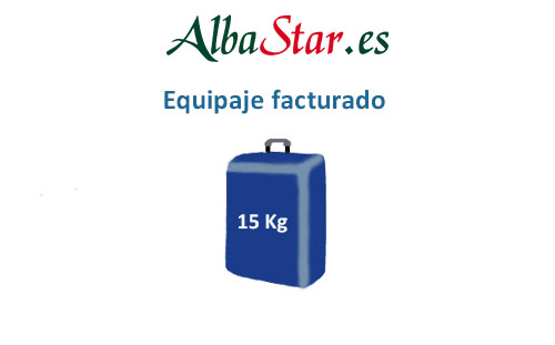 medidas equipaje facturado compañía alba star