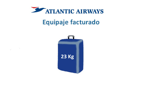 medidas equipaje facturado aerolínea atlantic airways