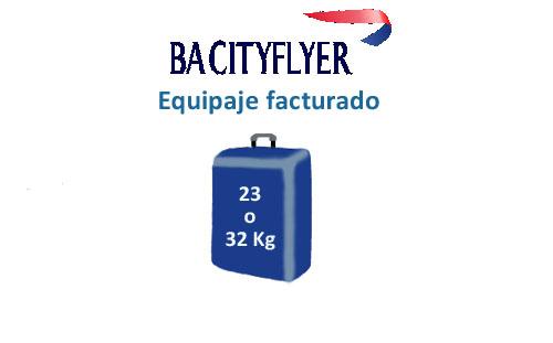 medidas equipaje facturado de compañía ba cityflyer
