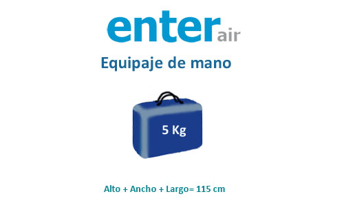 medidas equipa de mano compañía enter air