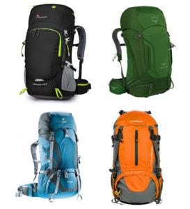 mochilas para viajar hasta 60 litros