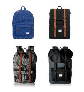mochilas de viaje marca herschel