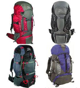 mochilas de viaje de la marca highlander