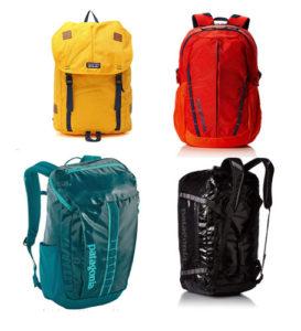 mochilas de viaje de la marca patagonia