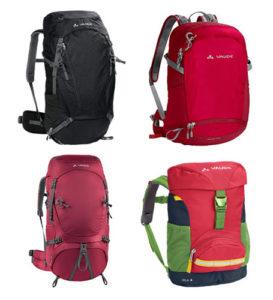 mochilas de viaje de la marca vaude