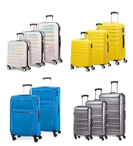 juego de maletas de american tourister
