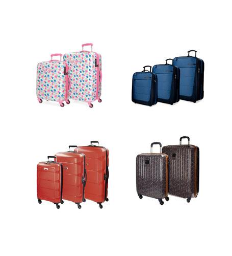 juego de maletas de El corte inglés