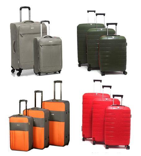 juego de maletas de roncato