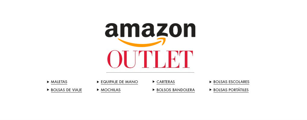 outlet de maletas de amazon